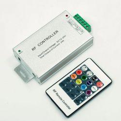 RGB-контролер RF радіо Aluminum 24А (20 кнопок на пульті) Venom