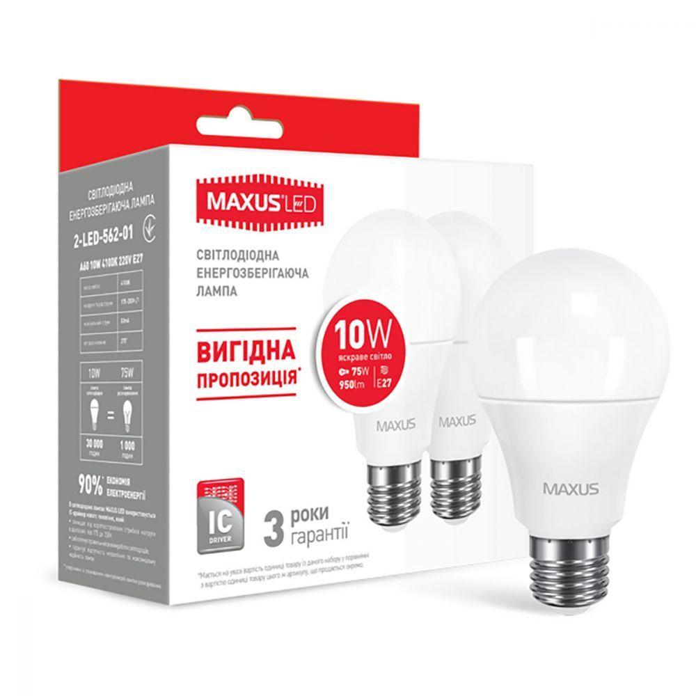 LED лампы Maxus