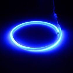 Світлодіодний неон круглий SMD 2835 120д.м. (IP67) 220V (VPN-2835120220R-B) синій