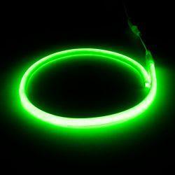 Світлодіодний неон круглий SMD 2835 120д.м. (IP67) 220V (VPN-2835120220R-G) зелений