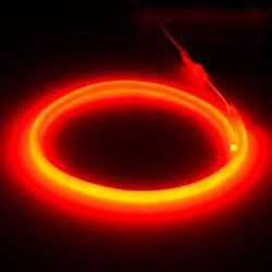 Світлодіодний неон круглий SMD 2835 120д.м. (IP67) 220V (VPN-2835120220R-R) червоний