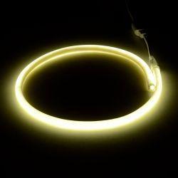 Світлодіодний неон круглий SMD 2835 120д.м. (IP67) 220V (VPN-2835120220R-W) білий