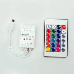 RGB-контроллер Ledstorm IR инфракрасный 6А (24 кнопки на пульте)