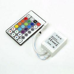 RGB-контроллер Venom IR инфракрасный 6А (28 кнопок на пульте)