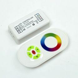 RGB-контроллер Ledstorm RF радио 18A (сенсорный пульт) White