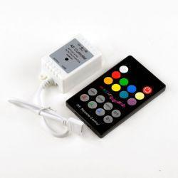 RGB-контроллер Ledstorm RF радио музыкальный 6A (18 кнопок на пульте)