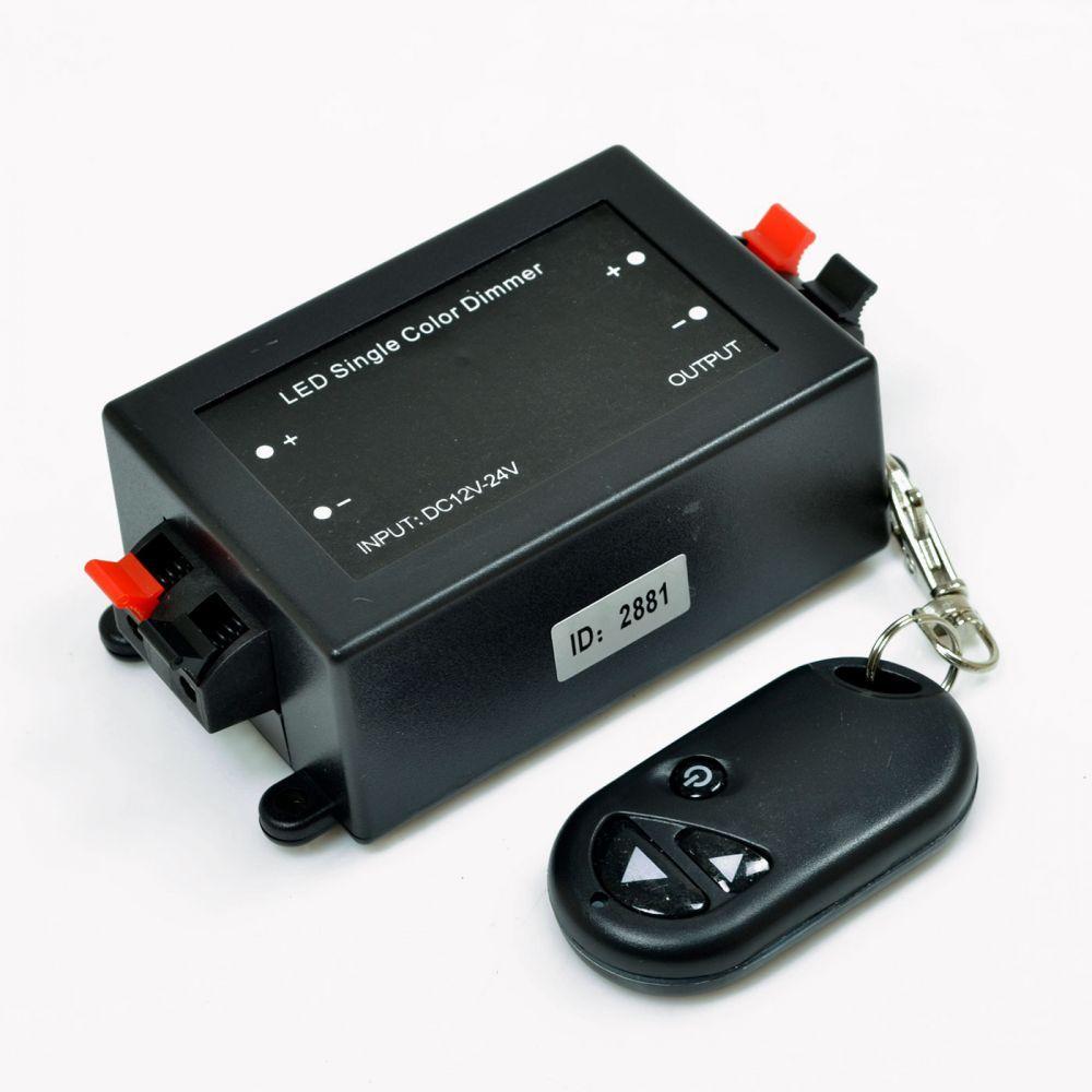 Диммер Venom радио 8А (3 кнопки на пульте)