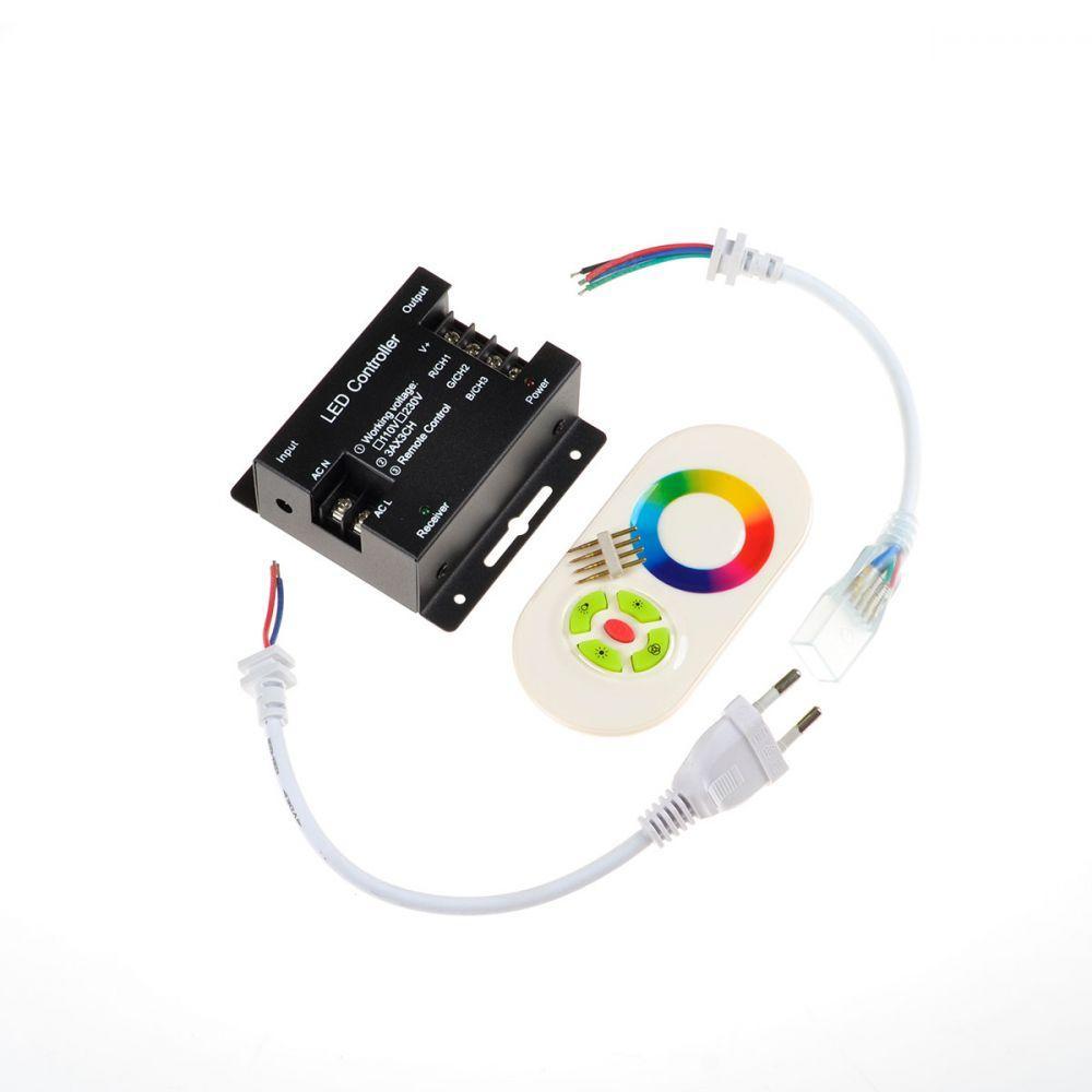 RGB-контроллер Venom 1440W 220V-Rf-Сенсорный