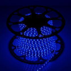 Светодиодная лента Venom SMD 2835 60д.м. (IP67) 220V синяя (VP-2835220060-B)