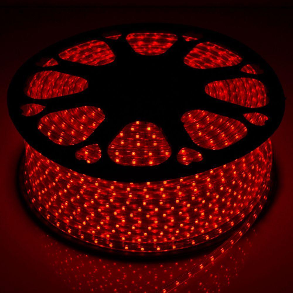 Светодиодная лента Venom SMD 2835 60д.м. (IP67) 220V красная (VP-2835220060-R)