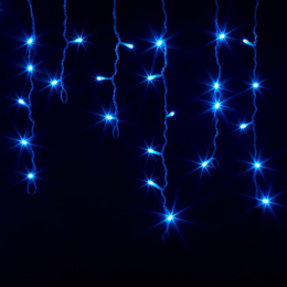 "Гирлянда ""Бахрома"" 150Led Крупные светодиоды белый провод (арт.LS-6449)"
