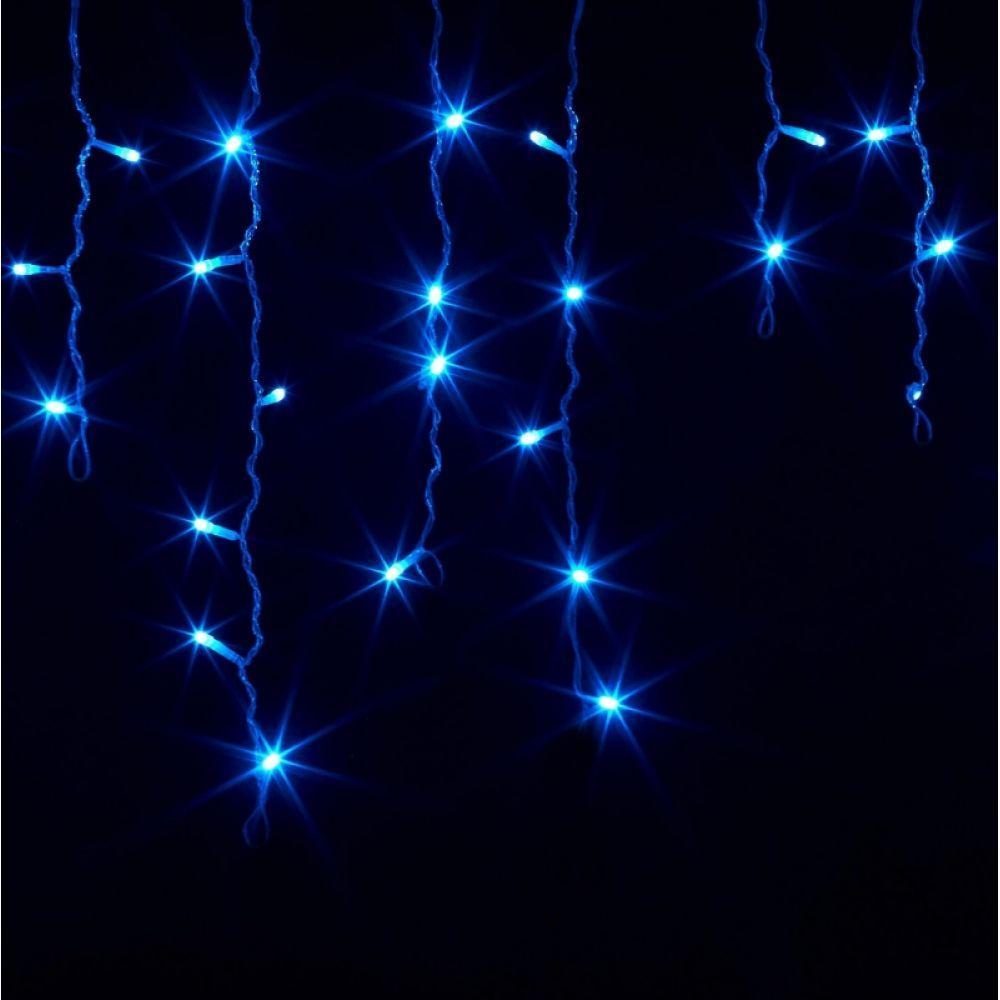 """Гирлянда """"Бахрома"""" 150Led Крупные светодиоды черный провод (арт.LS-6444)"""