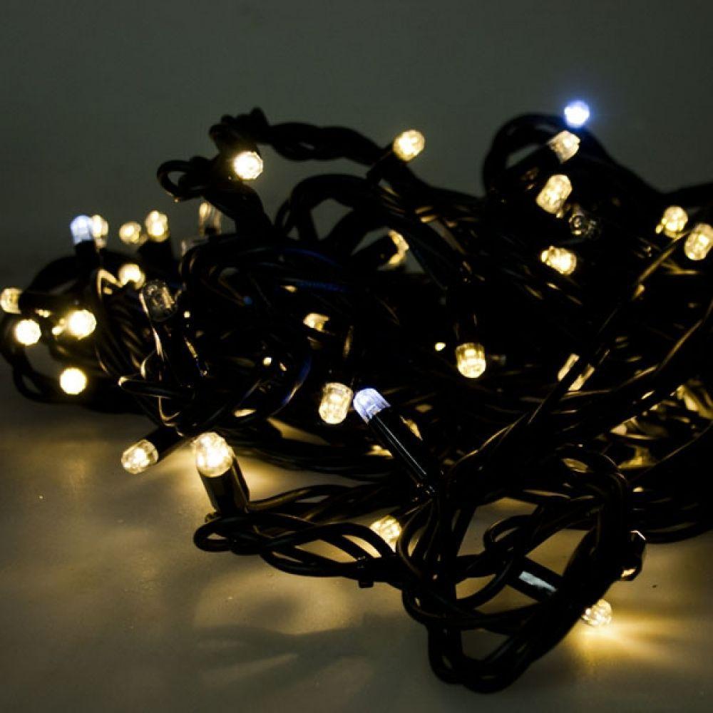 """Светодиодная гирлянда """"Нить"""" 200Led, Мелкие светодиоды, каучук (арт.LS-7281)"""