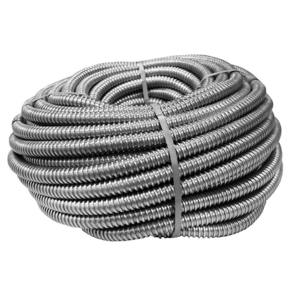 Металлорукав РЗЦ-Х оцинкованный с протяжкой D18мм (50м)