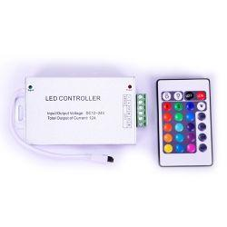 RGB-контроллер Venom Alluminium IR инфракрасный 12А (24 кнопки на пульте)
