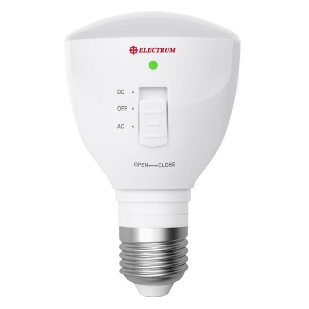 Светодиодная лампа c аккумулятором E27 4Вт (LP-1664)