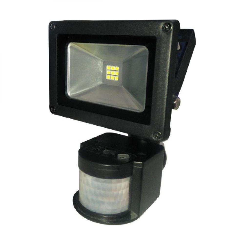 Светодиодный прожектор LITEJET с датчиком движения 10Вт (арт. B-LF-0143)