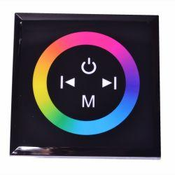 RGB-контроллер Ledstorm Touch Panel стационарный (Black) 12A