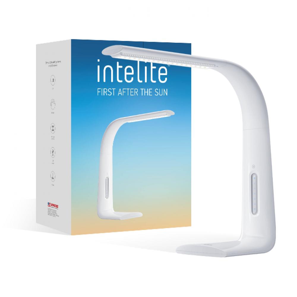 Настольный светильник Intelite Desklamp 7W white (арт. DL1-7W-WT)