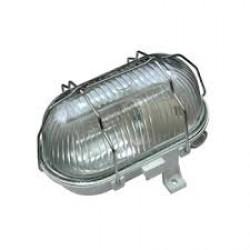LED світильник ELM NPP-01-100 IP44 пр.мет / реш.сер. (Арт. 21-1101)