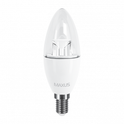 LED лампа C37 6W 220V E14 (арт. 1-LED-531)