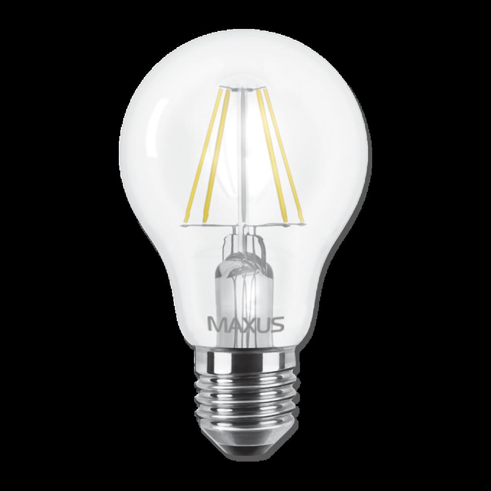 LED лампа MAXUS (филамент), А60, 8W, E27 (арт. 1-LED-565)