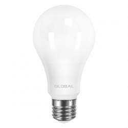 LED лампа GLOBAL A60 12W 220V E27 AL (арт. 1-GBL-165)