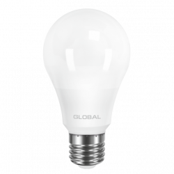 LED лампа GLOBAL A60 8W 220V E27 AL (арт. 1-GBL-161)