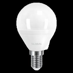 LED лампа GLOBAL G45 F 5W 220V E14 AP (арт. 1-GBL-143)