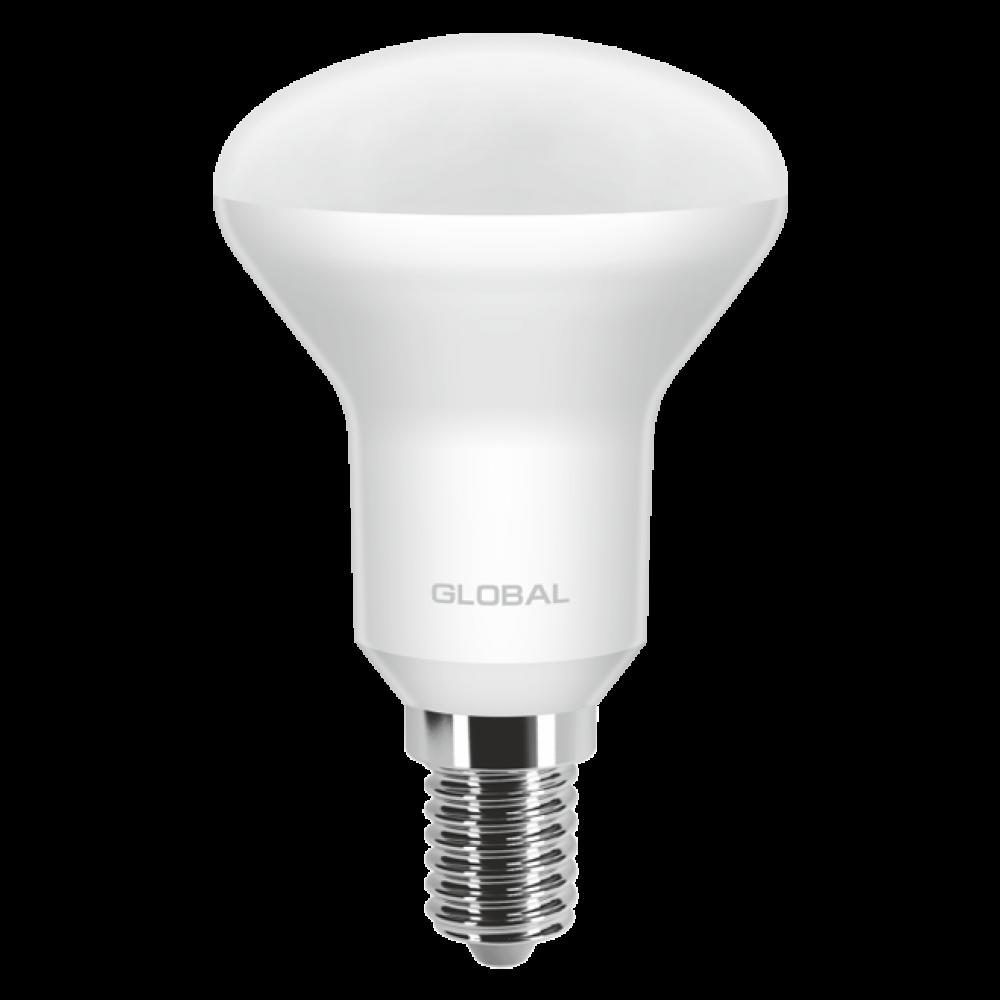 LED лампа GLOBAL R50 5W 220V E14 (арт. 1-GBL-153)