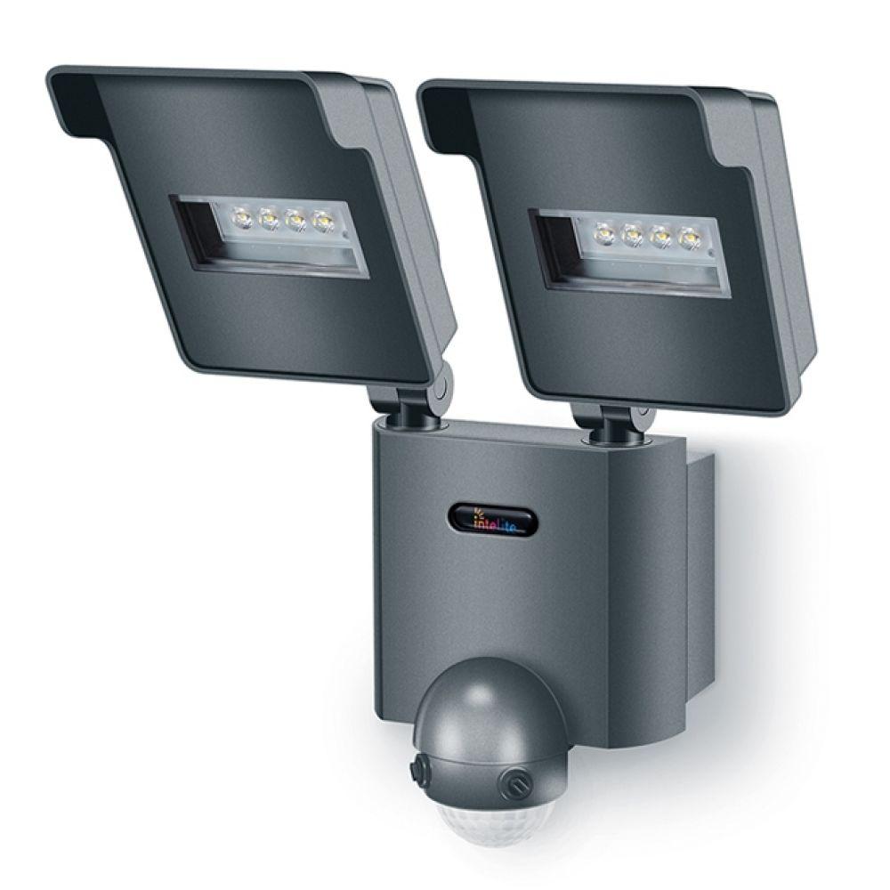 Вуличний LED світильник Intelite 2H 20W з датчиком руху 220V (арт. 1-HD-002S)