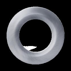 Декоративная накладка для LED светильника MAXUS SDL mini, Сатин-никель (по 2 шт.) (арт. 2-CSDL-SN-1)