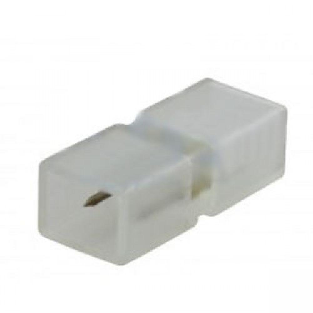 Конектор для світлодіодних стрічок 220В 5050 WHITE Venom