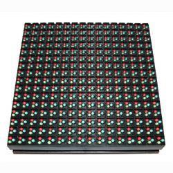 Полноцветный герметичный модуль P10 1R1G1B DIP (160х160мм)
