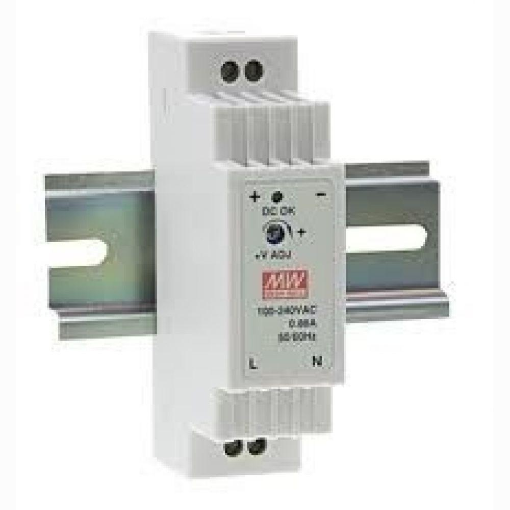 Блок питания Mean Well 12вт, 5в, 2,4 А (арт. HDR-12-5)