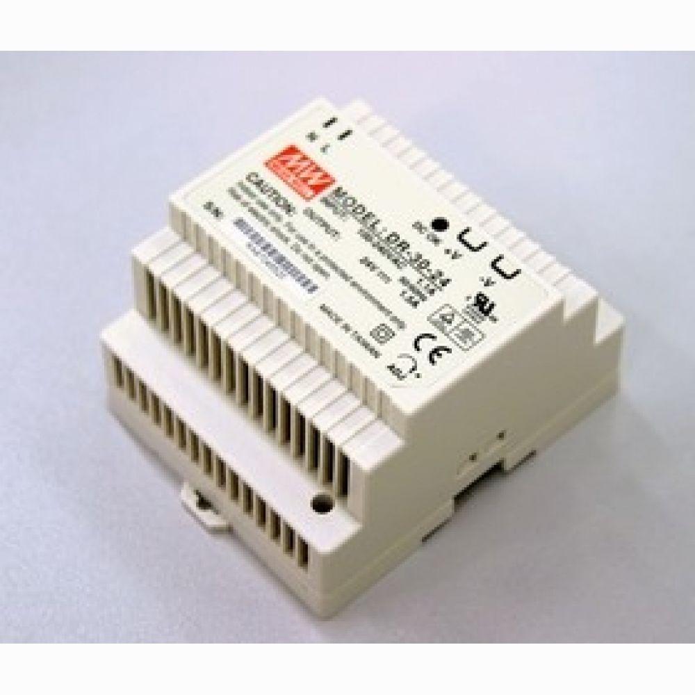 Блок питания Mean well 30вт, 24в,1,5А (арт. HDR-30-24)