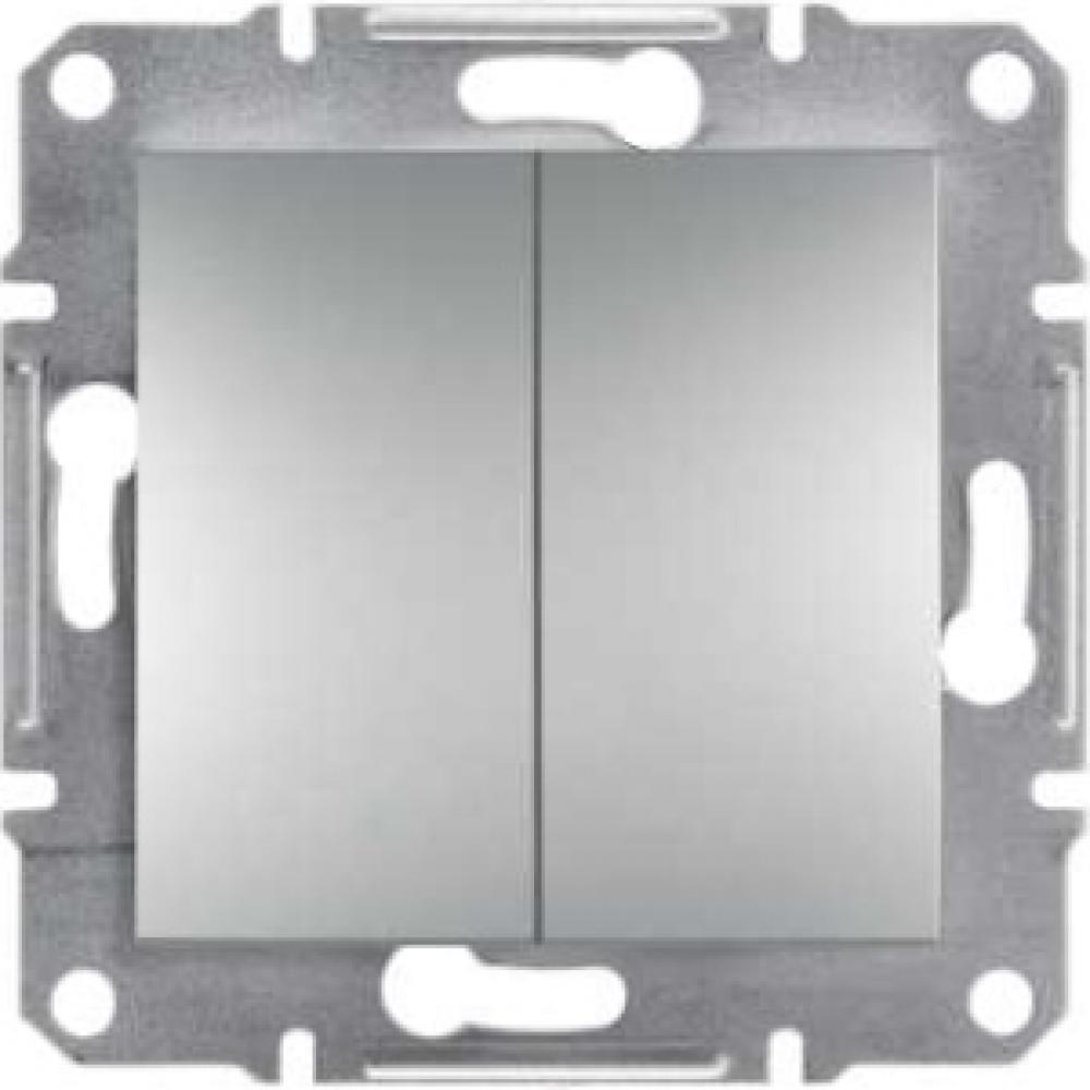 Выключатель двойной проходной алюминиевый (ASFORA)