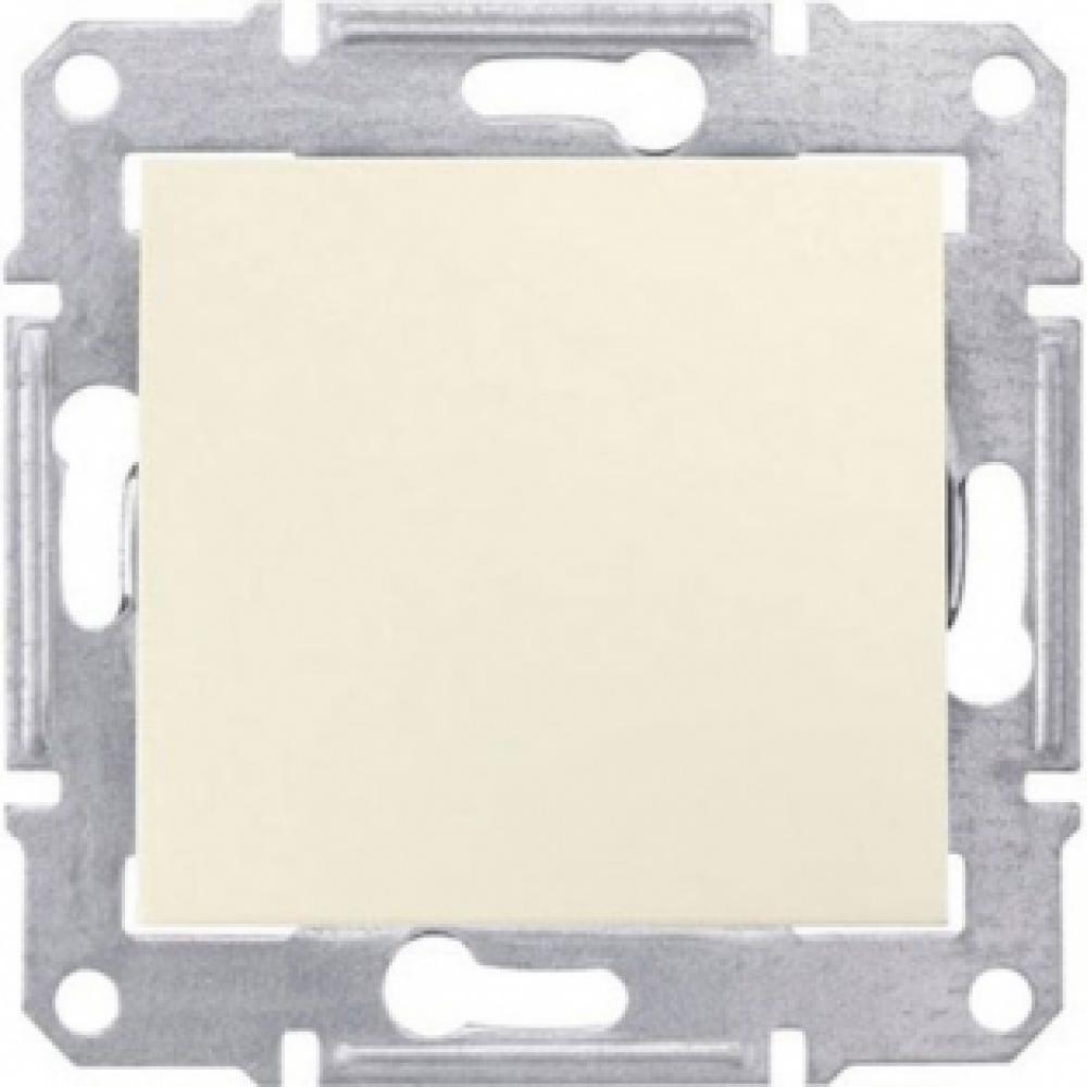 Однокнопочный выключатель с.к IP44 (SEDNA)