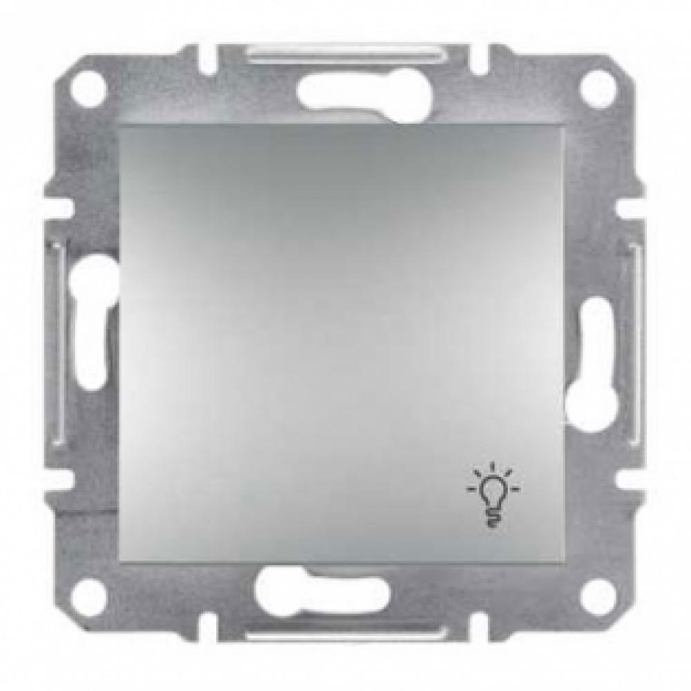 Кнопка - світло алюмінієва (ASFORA)