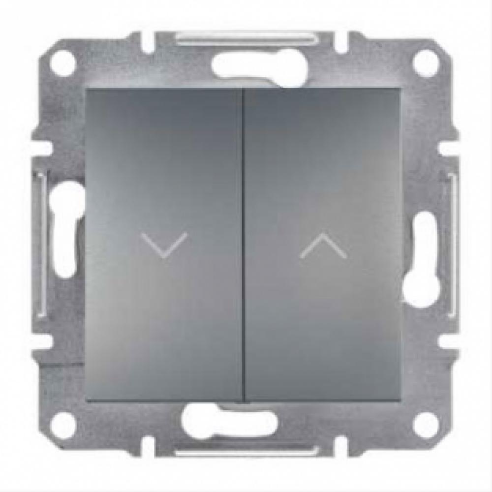 Выключатель для жалюзи сталь (ASFORA)