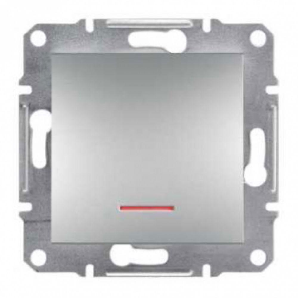 Кнопка с подсветкой алюминиевая (ASFORA)