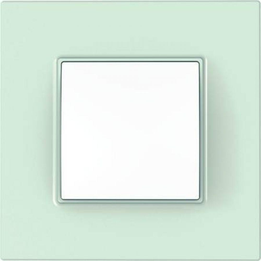 Рамка 1 пост. стекло (UNICA)