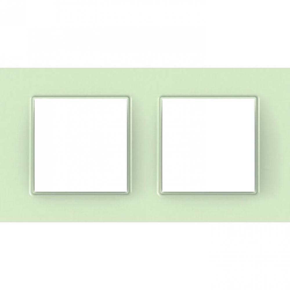 Рамка 2 пост. стекло (UNICA QUADRO)