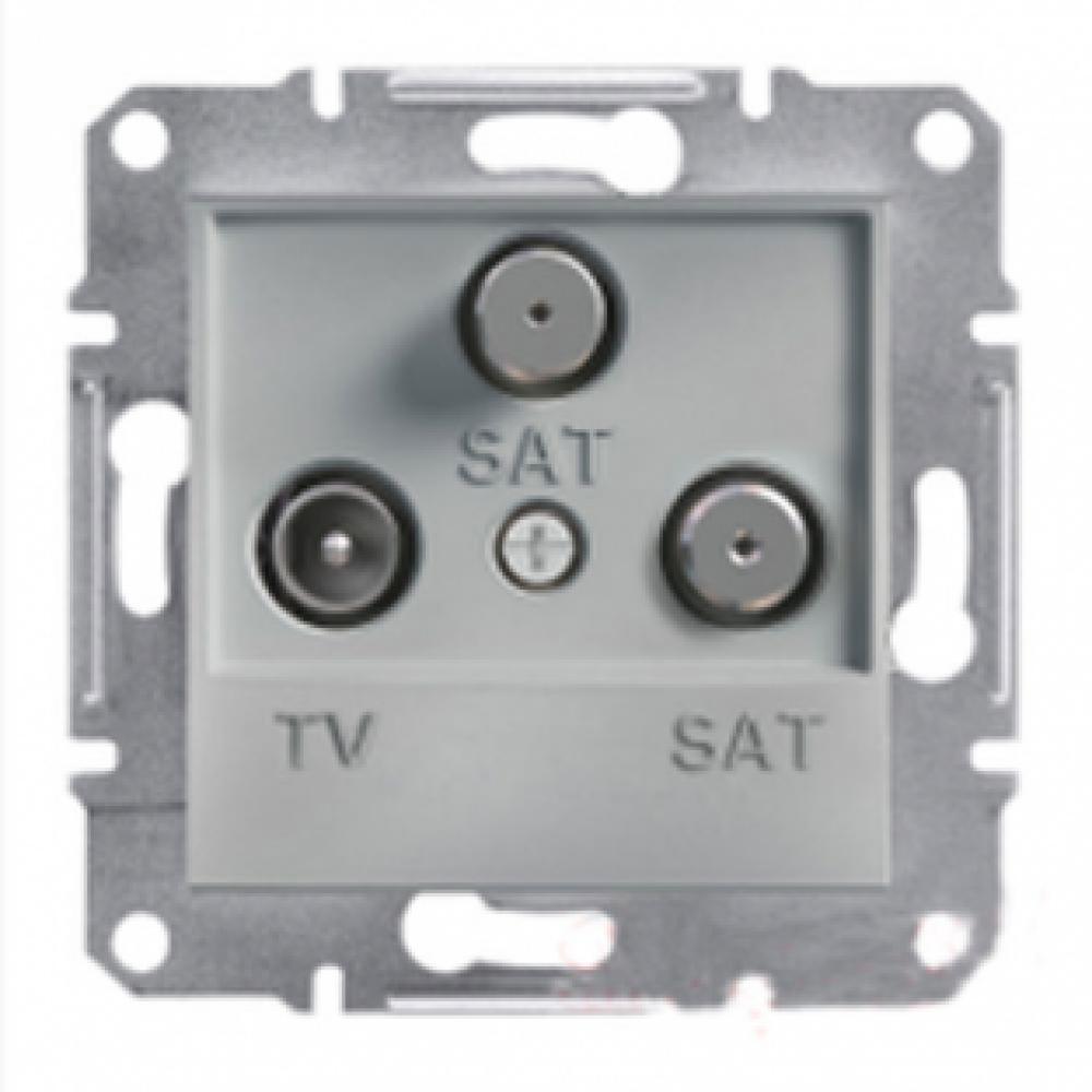 Розетка TV-SAT-SAT конечная алюминиевая (ASFORA)