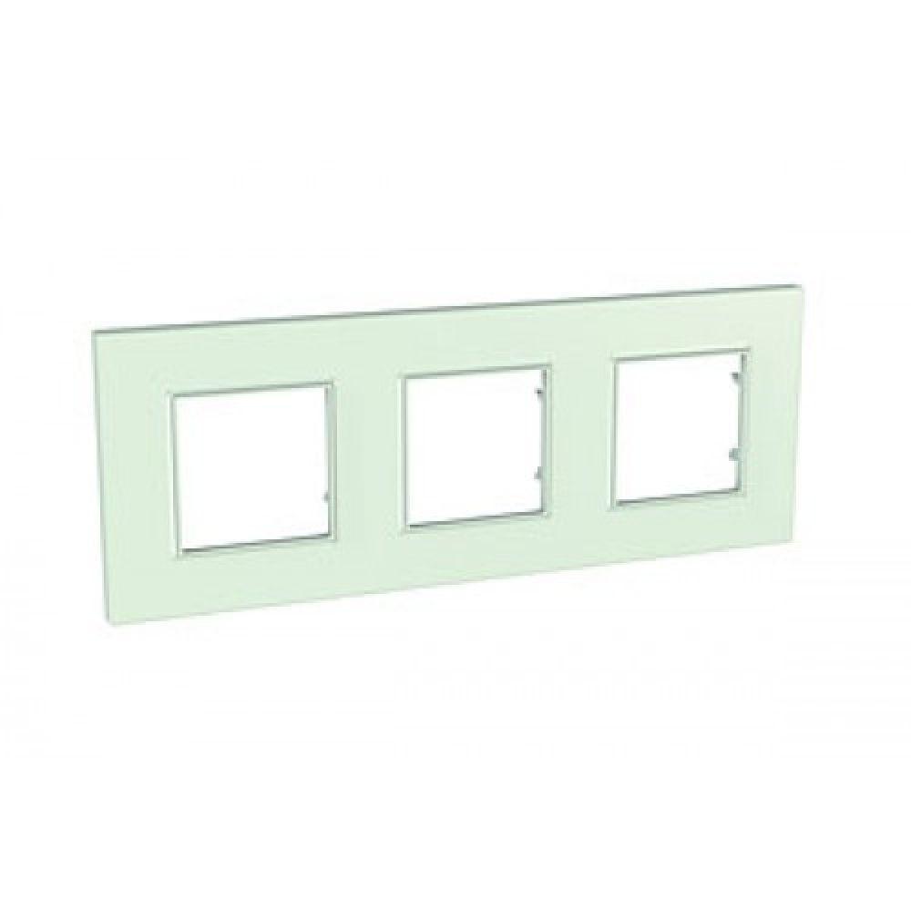 Рамка 3 пост. стекло (UNICA QUADRO)