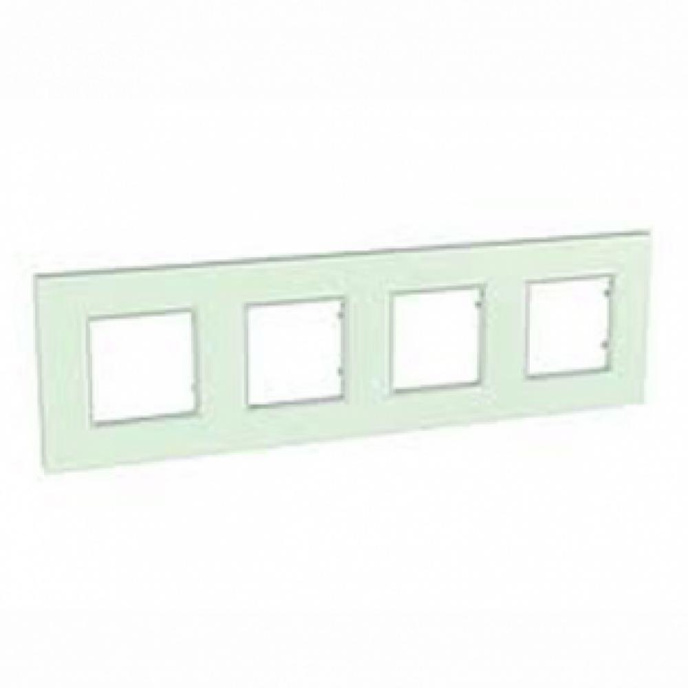 Рамка 4 пост. стекло (UNICA QUADRO)