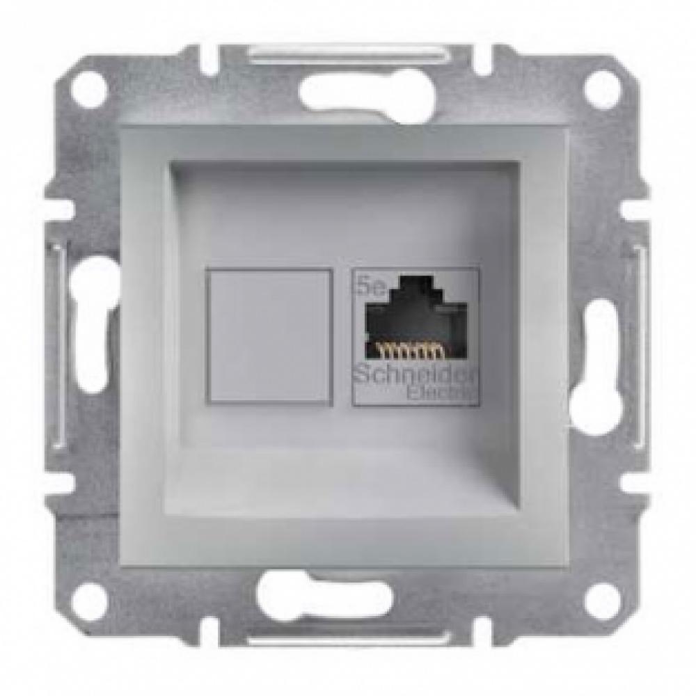 Розетка компьютерная алюминиевая (ASFORA)