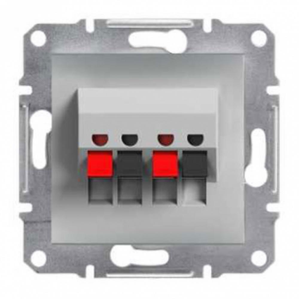Розетка акустическая алюминиевая (ASFORA)
