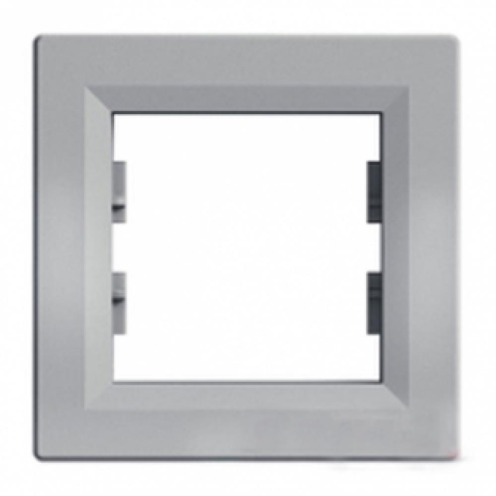 Рамка одинарна алюмінієва (ASFORA)