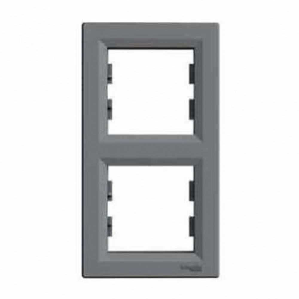 Рамка двухпостовая сталь (ASFORA)